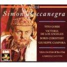 verdi - simon boccanegra - gobbi de los angeles christoff campora santini CD 2-discs 1990 EMI mint