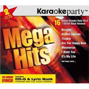 Karaoke party Mega Hits CD CD-G 2-discs 2004 medacy used mint