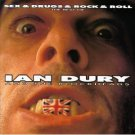 best of ian dury and the blockheads - sex & drugs & rock & roll CD 1992 rhino used mint