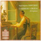 schubert impromptus D899 D935 - lambert orkis CD 1990 virgin used mint