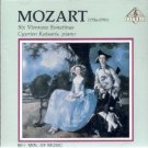 mozart six viennese sonatinas - cyprien katsaris piano CD pavane UK used mint