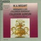mozart serenade K 203 collegium aureum - franzjosef maier CD 1983 harmonia mundi 1990 BMG used