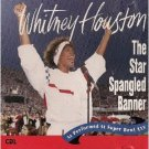 whitney houston - star spangled banner & america the beautiful CD single 1991 arista mint
