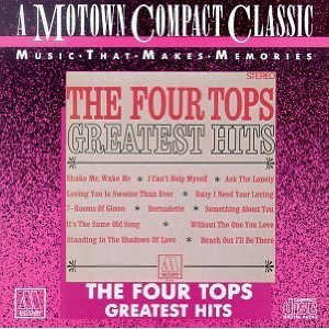 four tops - greatest hits CD 1987 motown 12 tracks used mint