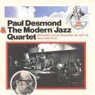 paul desmond & the modern jazz quartet CD 1993 sony used mint