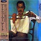 art farmer - art CD 1997 MCA victor japan used mint with obi stip