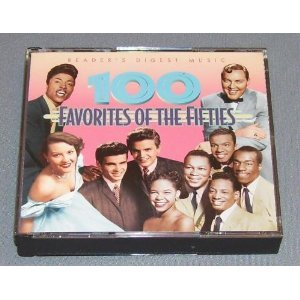 100 favorites of the fifties CD 4-disc box 2000 readers digest used mint