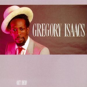 gregory isaacs - out deh! CD 1983 island mango used near mint barcode punched