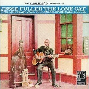 jesse fuller - lone cat CD 1990 fantasy good time jazz used near mint