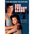 she fought alone - tiffani-amber thiessen brian austin green DVD 2004 image used mint