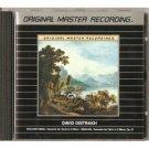 david oistrakh - khachaturian & sibelius CD 1989 MFSL used