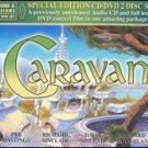 caravan - bedrock in concert CD + DVD 2002 classic rock used mint