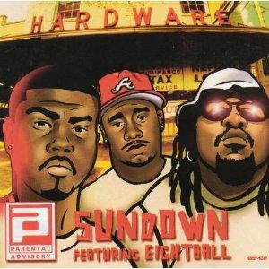parental advisory - sundown featuring eightball CD single 4 tracks dreamworks used mint