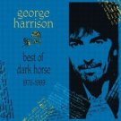 george harrison - best of dark horse 1976 - 1989 CD 1989 ganga warner used mint