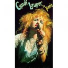 cyndi lauper in paris VHS 1987 CBS FOX 91 minutes 17 tracks used