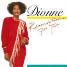 dionne warwick - reservations for two CD 1987 arista used mint