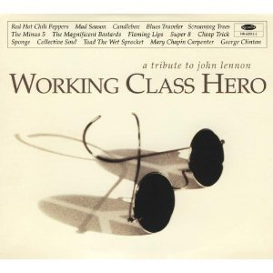 working class hero - a tribute to john lennon CD 1995 hollywood digipak 15 tracks used mint