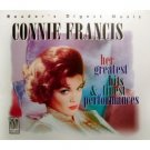 connie francis - her greatest hits & finest performances CD 3-discs 1996 readers digest used mint