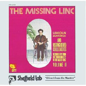 LINCOLN MAYORGA AND HIS DISTINGUISHED FRIENDS - missing linc CD 1972 sheffield lab japan used mint