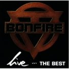 bonfire - live ... the best CD 1993 BMG RCA 16 tracks used near mint