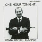 kenny davern clarinet - one hour tonight CD 1988 musical heritage society MHS used mint