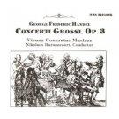 Handel - Concerti Grossi Op. 3 - Harnocourt & Vienna Concentus Musicus CD 2-discs 1989 MHS mint