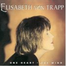 elizabeth von trapp - one heart one mind CD 1996 von trapp music used mint