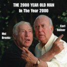 mel brooks and carl reiner - 2000 year old man in the year 2000 CD 1997 rhino used mint