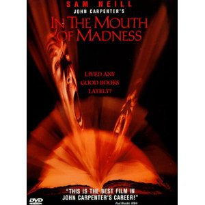john carpenter's in the mouth of madness - sam neill DVD 2000 new line used