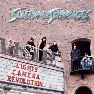 suicidal tendencies - lights camera revolution CD 1990 epic cbs used mint