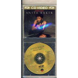 anita baker - sweet love CD VIDEO 1986 elektra asylum 4 tracks used mint