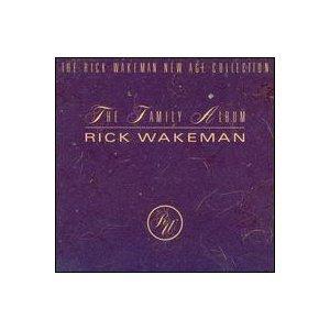 rick wakeman - family album CD 1989 relativity used mint