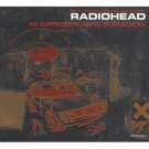 radiohead - no surprises running from demons CD EP 1997 EMI made in Japan 6 tracks used