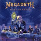 megadeth - rust in peace CD 1990 capitol used mint