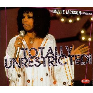 millie jackson anthology - totally unrestricted! CD 2-disc box 1997 rhino used mint