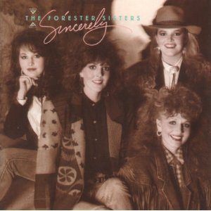 forester sisters - sincerely CD 1988 warner used mint