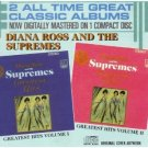 diana ross and the supremes - greatest hits volume I & II CD 1986 motown used