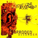 front line assembly - corroded disorder CD 1996 cleopatra 16 tracks used mint