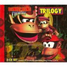 donkey kong country soundtrack trilogy CD 3-disc set 1996 nintendo used