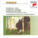 mendelssohn gade octets for strings - L'Archibudelli & Smithsonian Chamber Players CD 1992 sony used