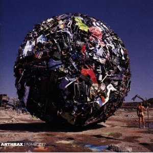 anthrax - stomp 442 CD 1995 elektra used mint
