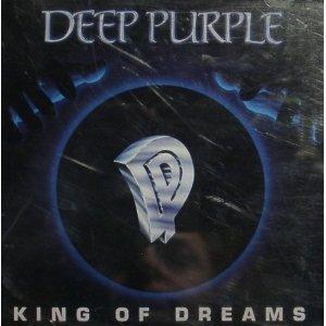 deep purple - king of dreams CD single 1990 RCA 2 tracks used mint