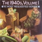1940s volume 1 - 16 most requested songs CD 1989 CBS sony used near mint