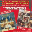 temptations - temptations christmas card & give love at christmas CD 1986 motown used mint