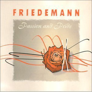 friedemann - passion and pride CD 1999 vollton biber germany used