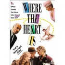 where the heart is - Dabney Coleman Uma Thurman DVD 2003 disney used mint