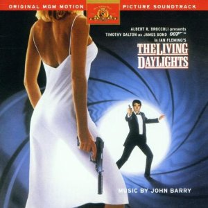 living daylights - original motion picture soundtrack CD 1987 1998 danjaq UA used mint