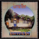 little feat - kickin it at the barn CD 2003 hot tomato used autographed