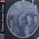 nickelback - three-sided coin CD 2002 roadrunner japan used
