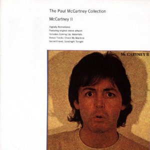paul mccartney collection - mccartney II CD 1993 EMI Europe used mint